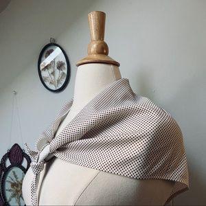Vintage Polka Dot Handkerchief
